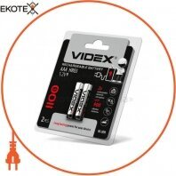 Аккумуляторы Videx HR03/AAA 1100mAh double blister/2pcs 20 шт/уп