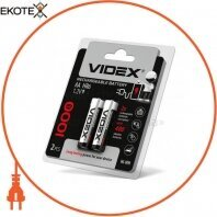 Аккумуляторы Videx HR6/AA 1000mAh double blister/2pcs 20 шт/уп