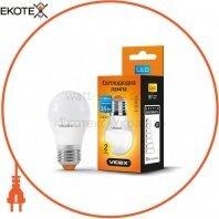 LED лампа VIDEX G45e 3.5W E27 4100K 220V
