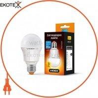 LED лампа VIDEX A60 15W E27 4100K 220V