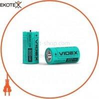 Аккумулятор Videx Li-Ion 16340(без защиты) 800mAh bulk 50 шт/уп