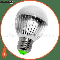 Лампа светодиодная e.save.LED.А60E.E27.6.4200 тип шар, 6Вт, 4200К, Е27