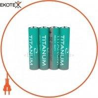 Батарейка солевая Titanum R03P/AAA 4pcs SHRINK (40/1200)