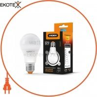 LED лампа VIDEX A60eD3 12W E27 4100K 220V с регулировкой яркости