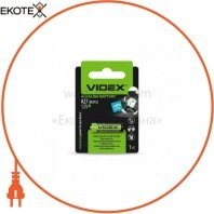 Videx 24237 videx батарейка щелочная а27 1pc blister card (12/240)