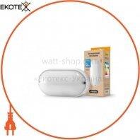LED светильник (ЖКХ) овальный VIDEX 9W 5000K 220V белый
