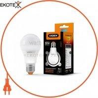 LED лампа с регулировкой яркости VIDEX A60eD3 10W E27 4100K 220V 24374