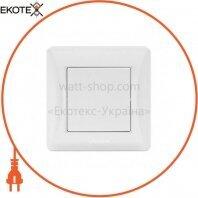 VIDEX BINERA Выключатель белый 1кл (VF-BNSW1-W) (20/120)