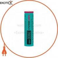 Аккумулятор Videx 18650(высокотоковый) 2800mAh bulk/1pc 50шт/уп
