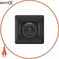 VIDEX BINERA Диммер черный графит 600Вт (VF-BNDM600-BG) (16/96)