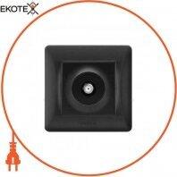 VIDEX BINERA Розетка черный графит SAT одинарная спутниковая (VF-BNSK1SATE-BG) (20/120)