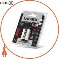 Аккумуляторы Крона Videx 6HR61 300mAh blister/1pc 12/96