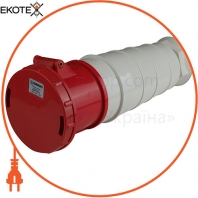 Розетка силовая переносная ENERGIO 245(3P+PE+N) 125A 415В IP44