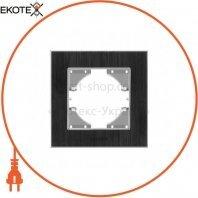VIDEX BINERA Рамка черный алюминий одинарная горизонтальная (VF-BNFRA1H-B) (13/104)