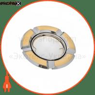 светильник точечный поворотный DELUX HDL16106R 50Вт G5.3 зол.мат.-хром