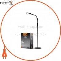 LED торшер напольный черный VIDEX VL-TF07B 14W 3000-5500K 220V(4шт/ящ)