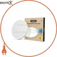 LED Светильник круглый накладной VIDEX 24W 5000K 220V