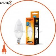 LED лампа VIDEX C37e 7W E14 3000K 220V 20шт/ящ