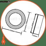 светодиодный светильник ledex, круг, накладной,  24w,  6500к холодно белый, матовое стекло, напряжение: ac100-265v, алюминий светодиодные светильники ledex Ledex 102169