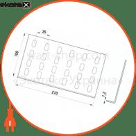 A1-101 Enext лотки металлические и аксессуары прямий з'єднувач 100 мм, довжина 210 мм, товщина 1,2 мм