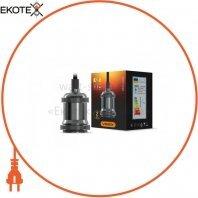 Cветильник подвесной декоративный VIDEX Е27 1,1м Алюминий чёрный