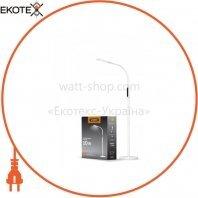 LED торшер напольный белый VIDEX VL-TF0701W 10W 3000-5500K 220V(4шт/ящ)