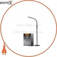 LED торшер напольный чёрный VIDEX VL-TF0701B 10W 3000-5500K 220V(4шт/ящ)