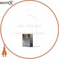 LED торшер напольный белый VIDEX VL-TF0702W 8W 3000-5500K 220V(4шт/ящ)