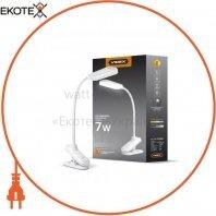 LED лампа настольная VIDEX VL-TF09W 7W 3000-5500K 220V(24шт/ящ)
