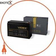 Аккумулятор свинцово-кислотный Videx 6FM7.2 12V/7.2Ah color box 1/10