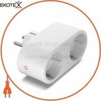 Умная розетка 2 слоти WiFi VF-WP200
