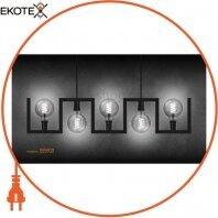 LED лампа VIDEX Filament G95FGD 4W E27 2100K 220V