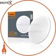 LED светильник настенно-потолочный VIDEX 48W 4100K 220V (VL-CLR-484S) Звёздное небо(5ящ)