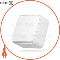 VIDEX BINERA IP20 Выключатель наружный 1кл проходной белый (VF-BNS11P-W) (12/120)