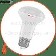 Лампа светодиодная R63 LR-8 8W E27 3000K алюмопл. корп. A-LR-0613