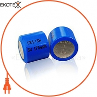 Батарейка литиевая Videx CR1/3N 1pc BLISTER(12/240)