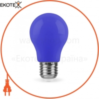 Светодиодная лампа Feron LB-375 3W E27 синяя