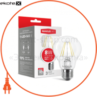 Лампа світлодіодна A60 FM 8W 3000K 220V E27