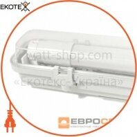 Евросвет 39734 світильник промисловий евросвет 1*1200мм під лампу т8 led-sh-20 ip65 slim