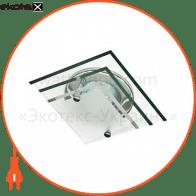 4153DL под MR16 хром ( стекло-3 уровня)