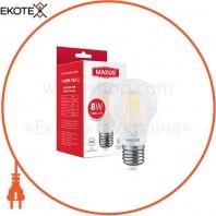 Лампа светодиоднаяA60 FM 8W 4100K 220V E27 Frosted
