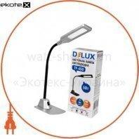 Светильник светодиодный настольный Delux TF-450 5Вт 4000K серебро