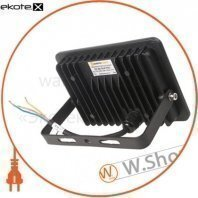 прожектор светодиодный евросвет 30вт 6400k ev-30-504 pro 2700лм