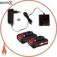Газонокосилка аккумуляторная GE-CM 33 Li Kit