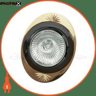 Встраиваемый светильник Feron 250DL черный металлик золото 17906