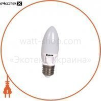лампа светодиодная DELUX BL37B 7 Вт 2700K 220В E27 теплый белый