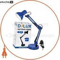 Светильник настольный DELUX TF-07_E27 голубой