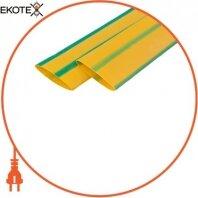 Термоусадочная трубка e.termo.stand.2.1.yellow-green, 2/1, 1м, желто-зеленая