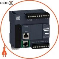 Компактный базовый блок M221-16IO реле Ethernet