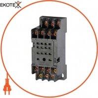 Модульний роз'єм e.control.p34s для проміжного реле 3А на 4 групи контактів